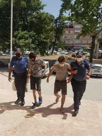 Bursa'da 2 motosiklet hırsızlığına 2 tutuklama