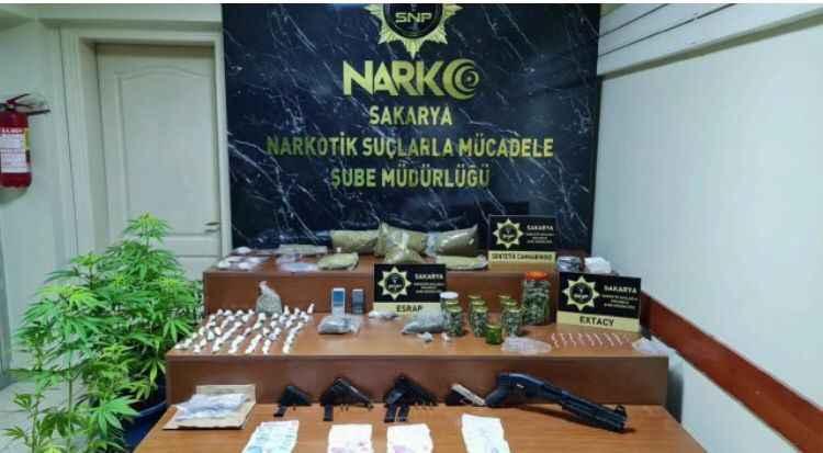 Narkotik ekiplerinden Haziran ayında uyuşturucu satıcılarına darbe!