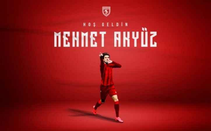 Sakaryalı Mehmet Akyüz Samsunspor'da