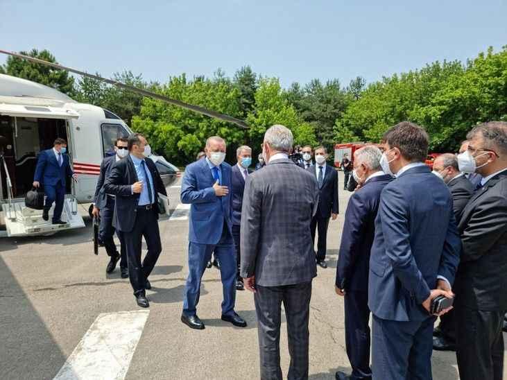 ERDOĞAN SAKARYA'DA (1) Erdoğan Tank Palet fabrikasına giriş yaptı!
