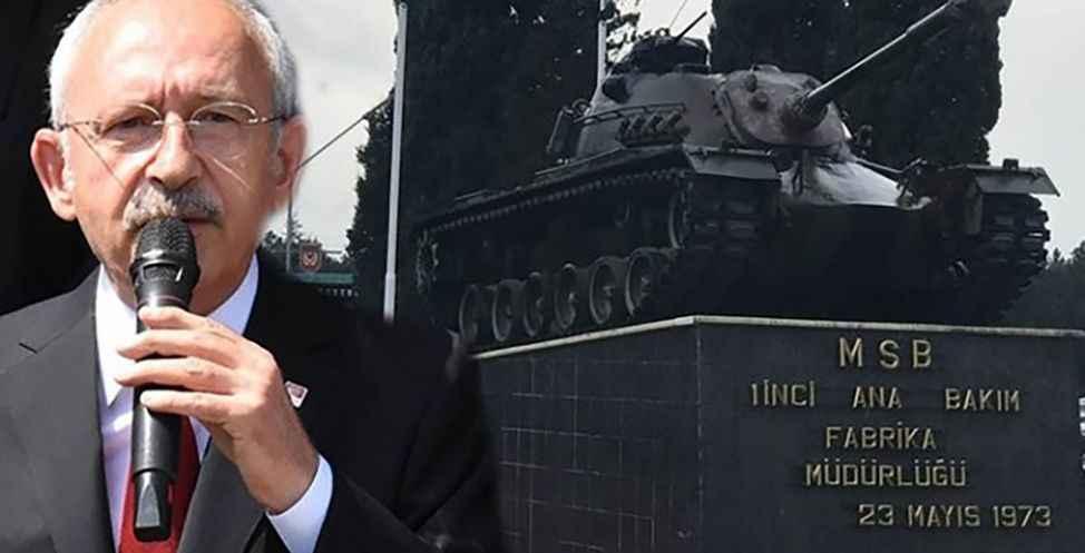 Kılıçdaroğlu'ndan Tank Palet paylaşımı