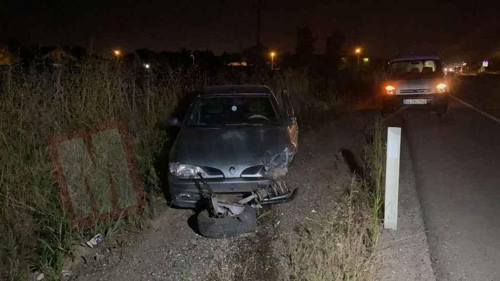 Karapürçek yolunda kaza: 3 yaralı