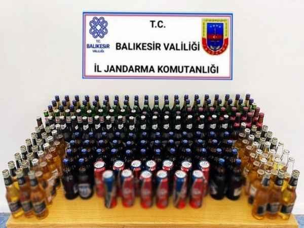 Marmara'da kaçak içki operasyonu