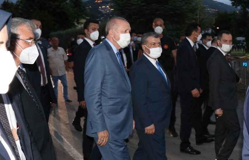 Cumhurbaşkanı Erdoğan'dan sır dolu ziyaret