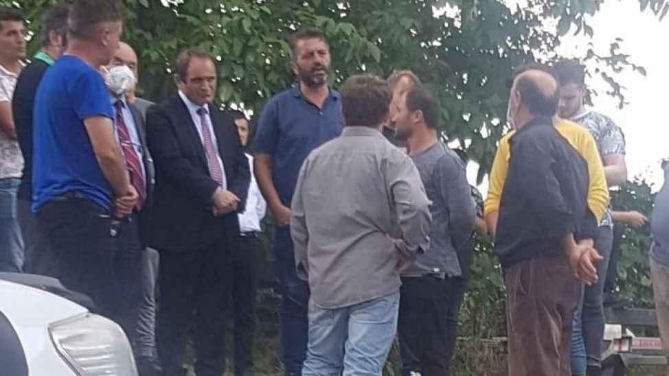CHP'li Keleş, arama çalışmalarının yapıldığı bölgeye gitti