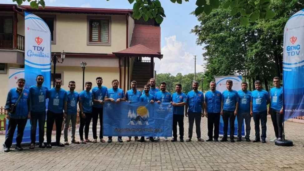 TDV Gençlik ve Gönüllülük Kampı Sakarya'da başladı
