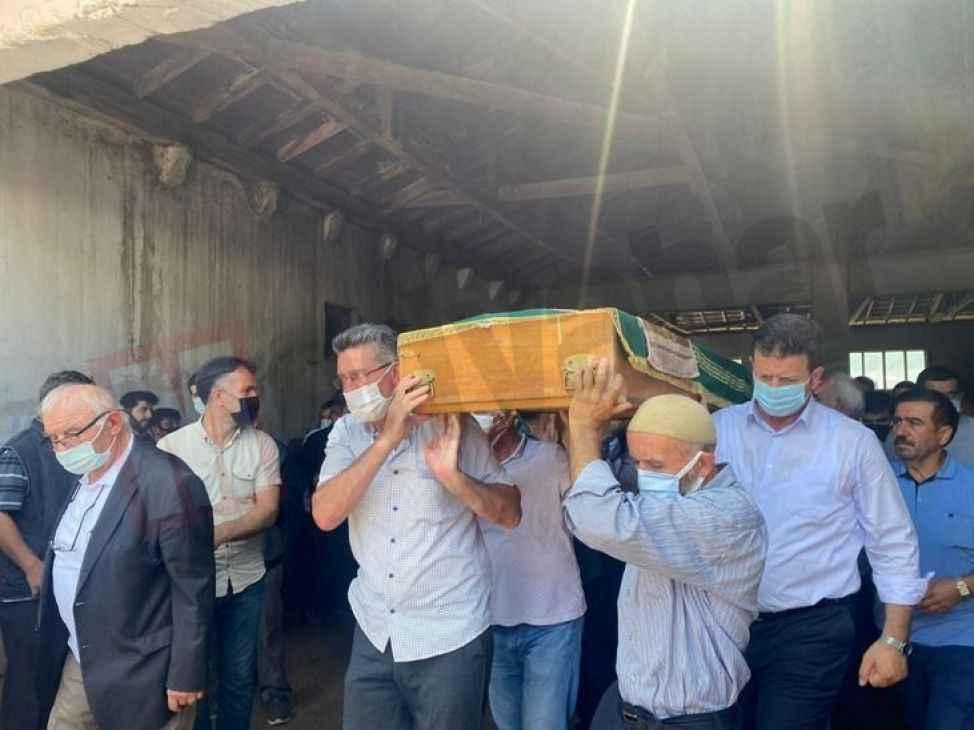 Kaza kurbanı Barutçu, gözyaşlarıyla toprağa verildi