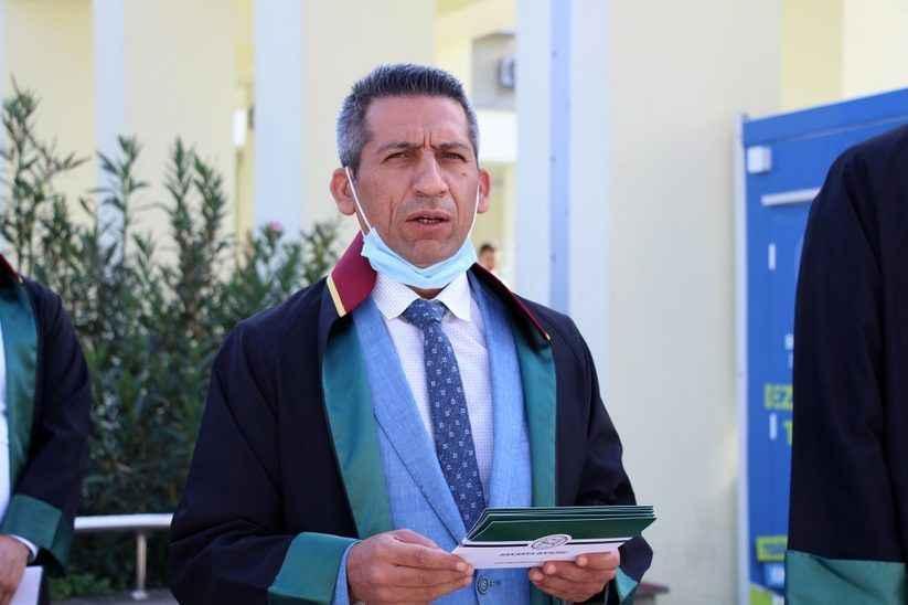 Baro Başkanı Burak'tan yeni adliye binası için çarpıcı açıklamalar!
