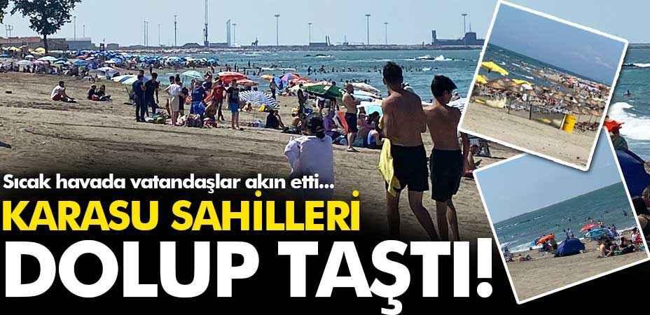 Sıcak havada herkes kendini denize attı!