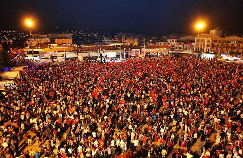 15 Temmuz Demokrasi ve Birlik Günü etkinlikleri canlı yayınla TV 264'de