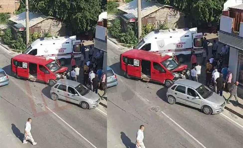 Şehir içindeki kara noktada bir kaza daha…