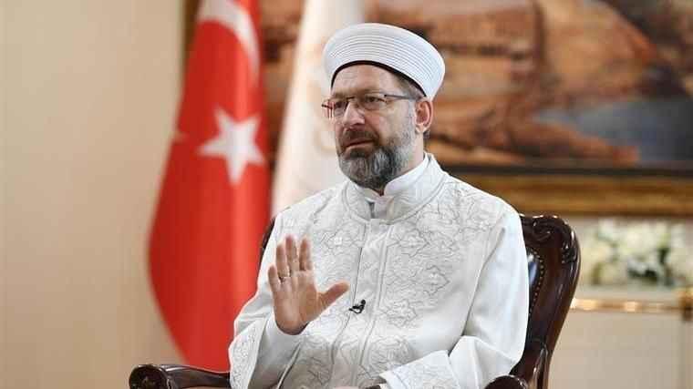 Ali Erbaş: İmam isminin FETÖ'nün temsilcileri için kullanılması kabul edilemez