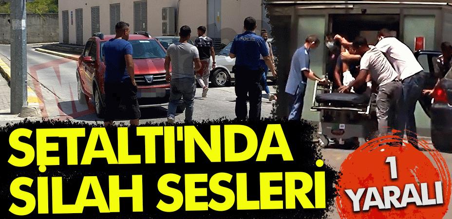 Karaköy Setaltı'nda silah sesleri... 1 yaralı!