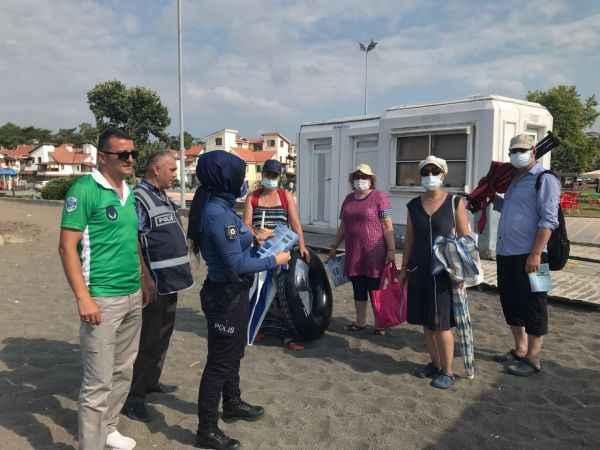 """Polisten Karadeniz için """"çeken akıntı"""" uyarısı"""