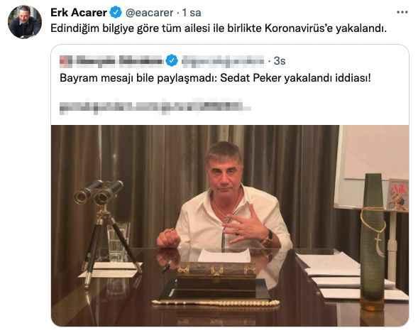 Sedat Peker 'kötü konuşmak istemezdim' dedi, ağzına geleni söyledi