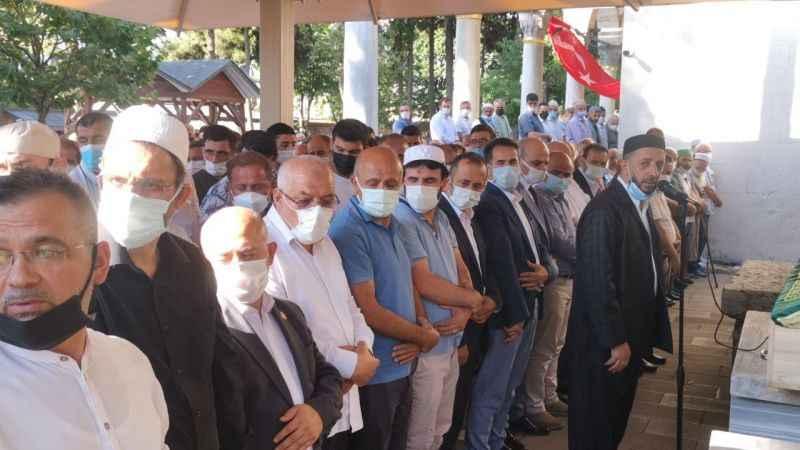 Kocaeli'de bıçaklı kavgada ölen federasyon başkanı için cenaze töreni düzenlendi