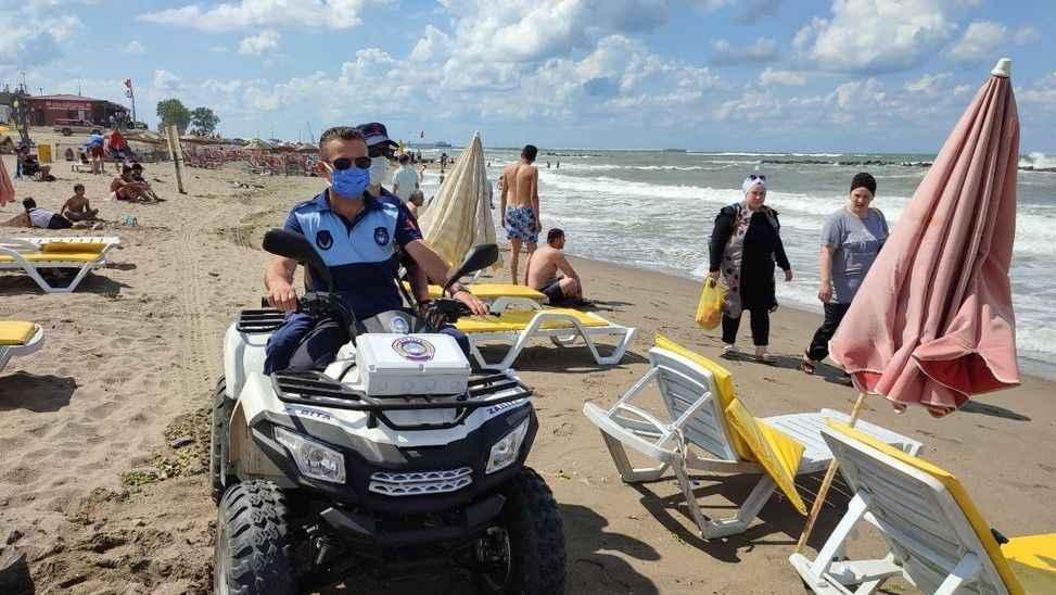 Karasu ve Kocaali'de denize girmek yasaklandı