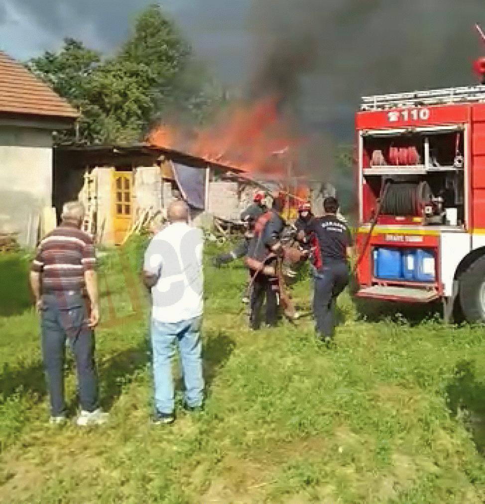 Akyazı'da takı atolyesinde yangın çıktı!