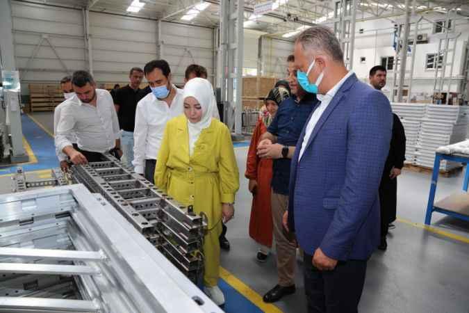 AK Parti Sakarya Milletvekili Atabek, Ferizli'de temaslarda bulundu