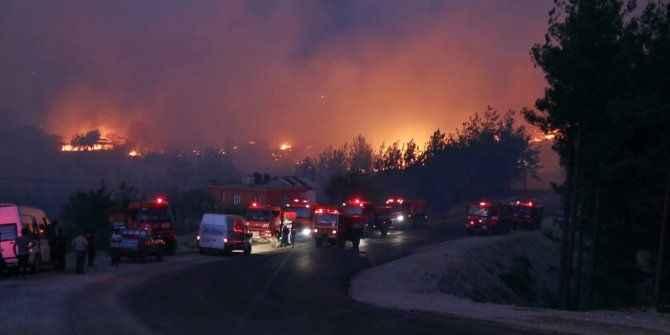 Akdeniz'de çıkan yangınlara Sakarya'dan kaç ekip gitti?