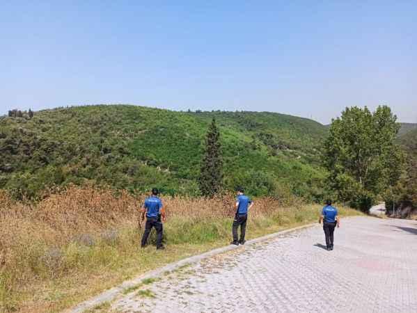 Kocaeli'de orman yangını riski nedeniyle çöplerin yakılması yasaklandı