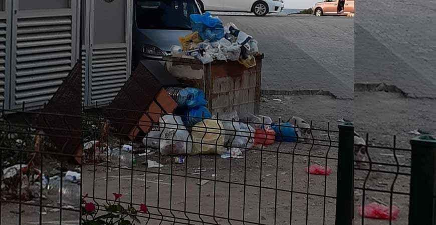 Mahalleli tatil bölgesinde bu görüntüden şikayetçi
