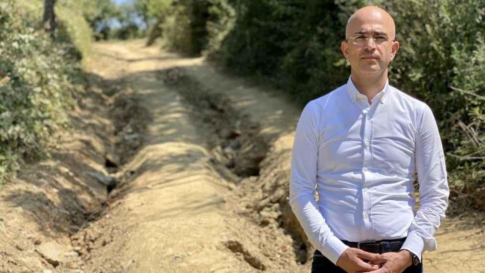 Serbes: Üzücü kaza yaşanmaması için, hasat başlamadan selden tahrip olan fındık bahçe yolları yapılmalı
