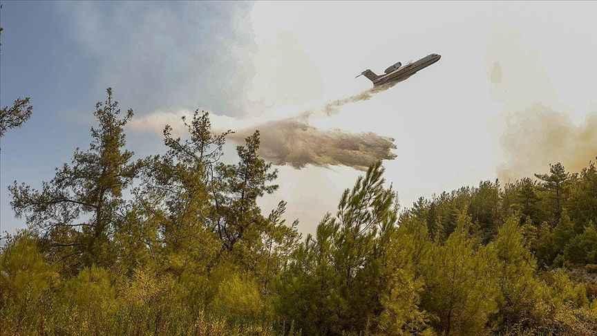 Akdeniz'deki yangında son durum: İki can kaybı daha, 3 ilde 6 yangın sürüyor