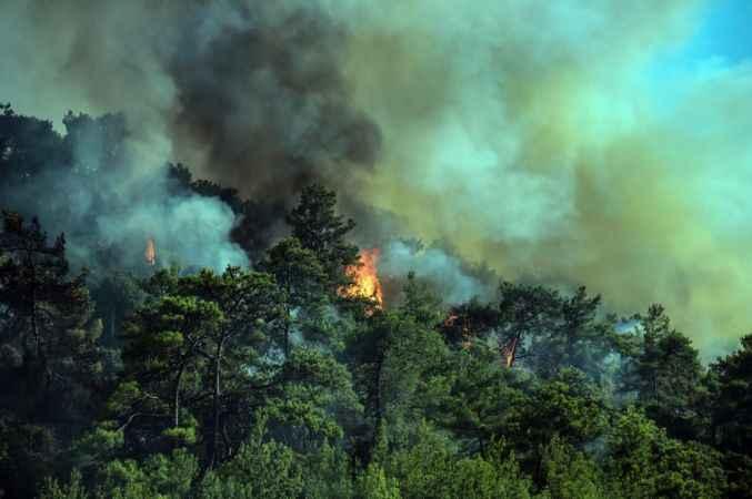 Marmaris'te 6. günde yangınla mücadelede son durum