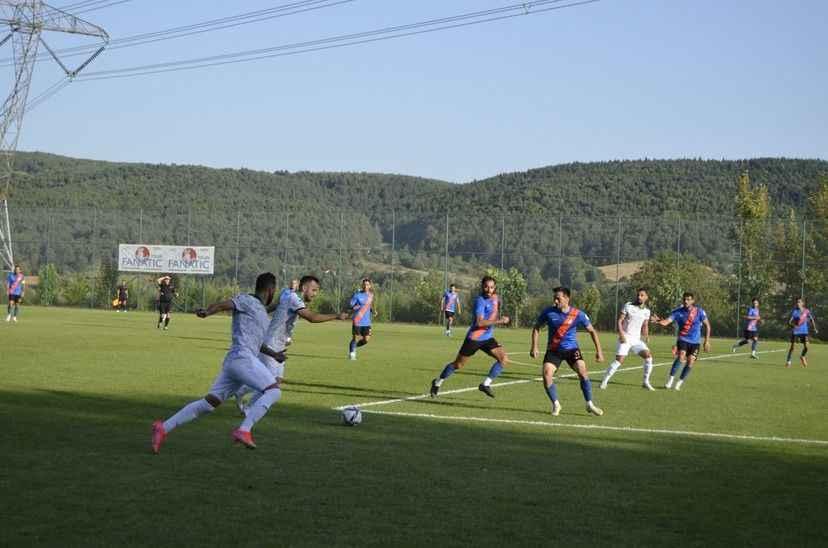 Sakaryaspor'un 3.ncü hazırlık maçından gol sesi çıkmadı