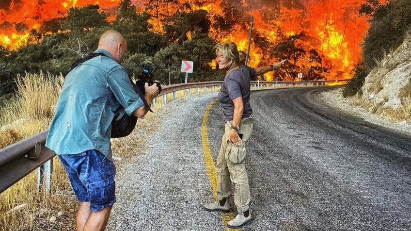 Alevlerin arasında kalan yabancı uyruklu muhabir yazdı! 'Topluca bir öfke ve çaresizlik var…'