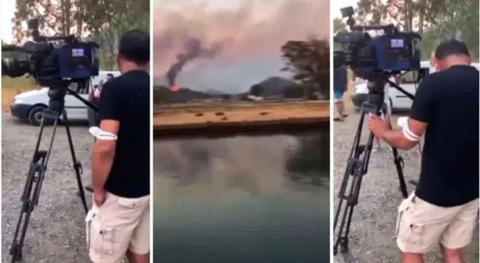 Yangınzedelerin medyaya yandaş tepkisi!