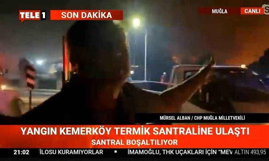 Yangın termik santrale ulaştı! CHP'li Alban'dan Erdoğan'a çağrı!