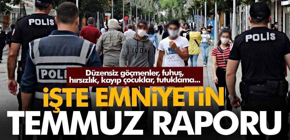 Düzensiz göçmenler, fuhuş,hırsızlık ve kaybolan çocuklar! İşte Sakarya'nın Temmuz ayı raporu...
