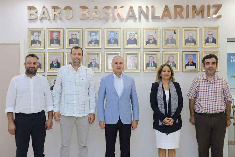 Başkan Altuğ'dan Sakarya Baro Başkanı'na hayırlı olsun ziyareti