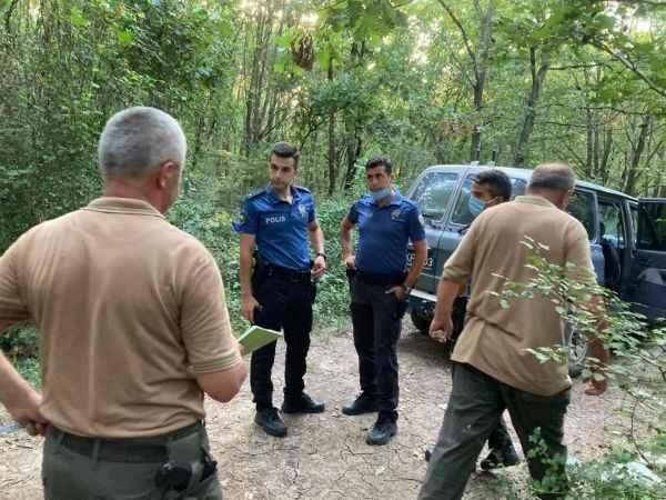 Kartepe'de ormanların kontrolü sürüyor