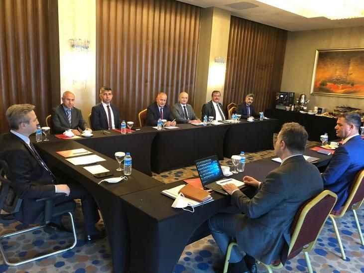 Marmara Bölgesi koordinasyon toplantısı Sakarya'da düzenlendi