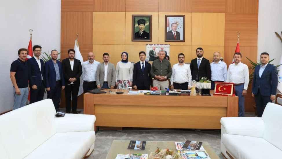 Başkan Ekrem Yüce, MÜSİAD Yönetimi'ni ağırladı