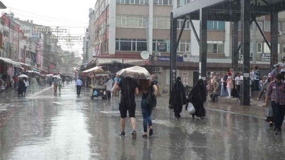 Sakaryalılara kuvvetli yağış ve dolu uyarısı