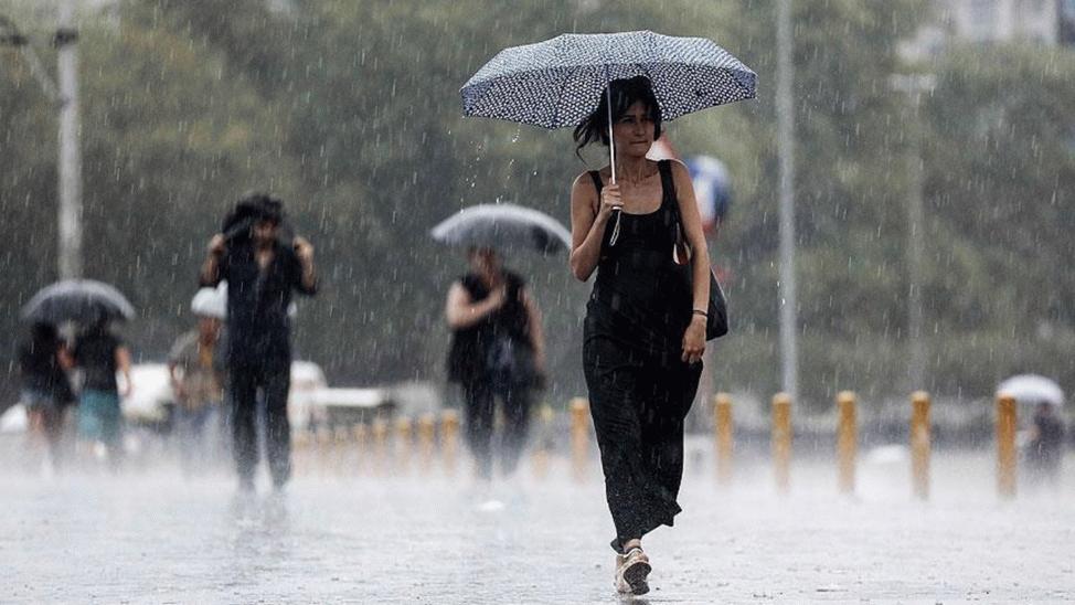 Şemsiye bile yetmeyecek, yağmurlukları hazırlayın