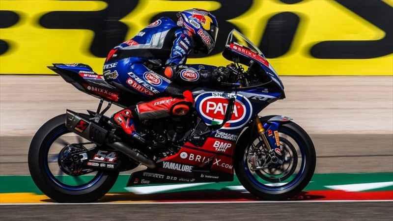 Milli motosikletçi Toprak Razgatlıoğlu, Çekya'da Superpole yarışında birinci oldu