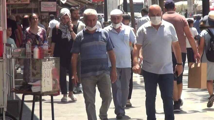 Diyarbakır'da korkutan corona virüsü rakamları