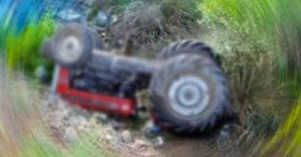 Traktörün altında kalan Ayşe teyze toprağa verildi!
