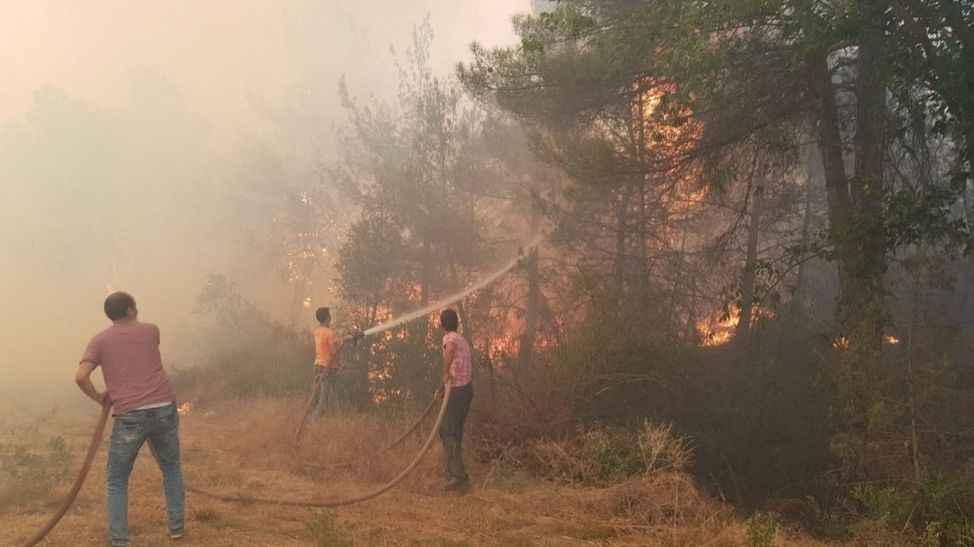 Bir hafta içinde hergün çıkan orman yangınını.. Tanık jandarma komutanının müthiş iddiası..