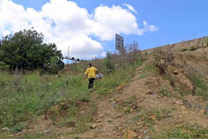Kocaeli'de yolları kapanan çiftçiler, 2 yıldır tarlalarına gidemiyorlar