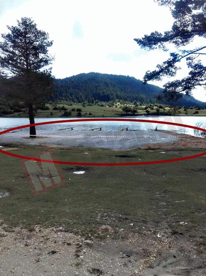 Karagöl Yaylasına bir beton daha! Bu sefer gölün kıyısına döktüler