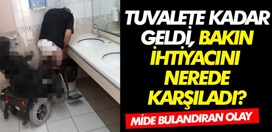 Bir vatandaşın hastanede tuvaletini yaptığı yer yok artık dedirtti!