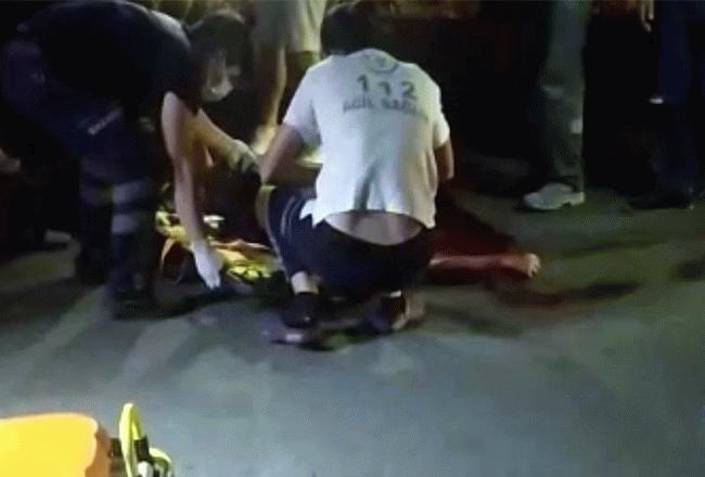 Otomobilin çarptığı 13 yaşındaki Zafer tüm müdahaleye rağmen kurtarılamadı...