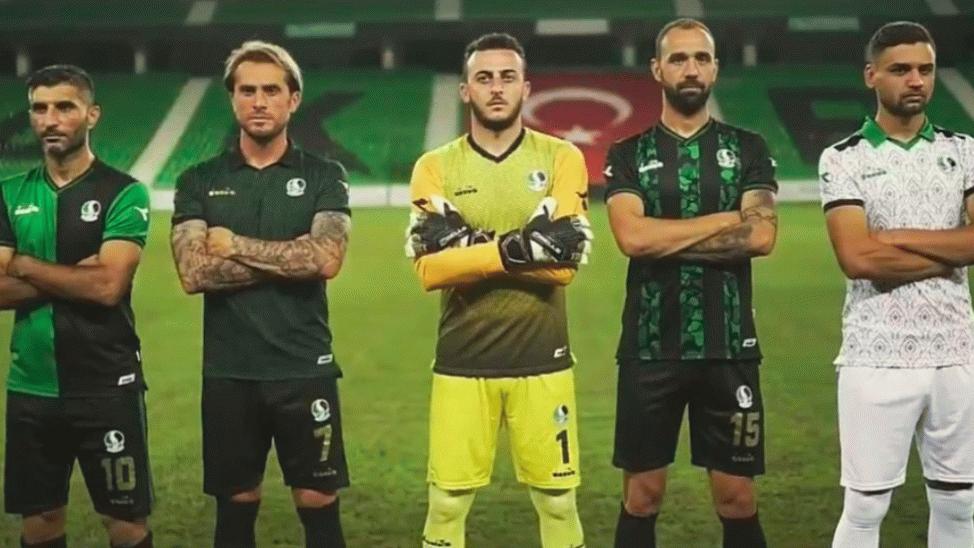 İşte Sakaryaspor'un yeni sezon formaları!