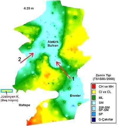6'ncı yüzyılda Adapazarı'nın ortasından nehir akıyordu